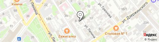Соседи на карте Иркутска