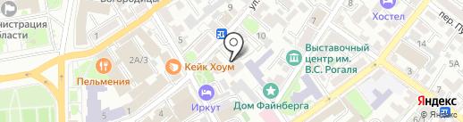 Отдел опеки и попечительства граждан по Иркутскому району на карте Иркутска