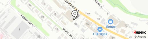 ЗАБОР-ДЕКОР на карте Иркутска