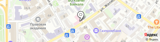 Отделение лечебной косметологии на карте Иркутска