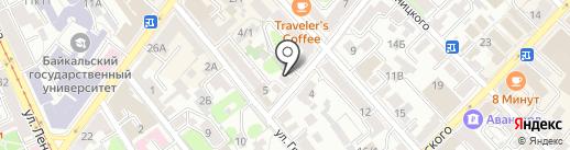 АльфаКом на карте Иркутска