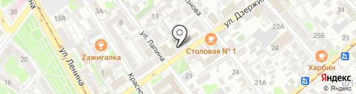 Эмикус на карте Иркутска