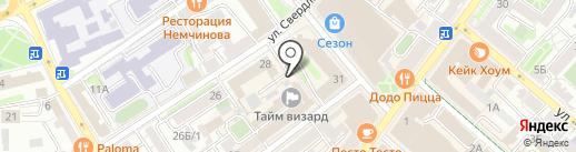 Судконсул на карте Иркутска