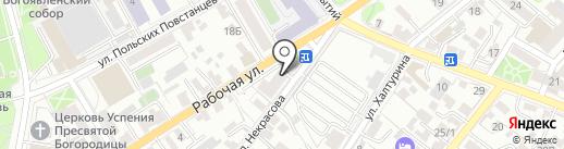 888 на карте Иркутска