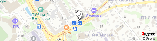 Фабрика здоровой еды на карте Иркутска