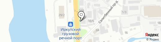 РемСервис на карте Иркутска