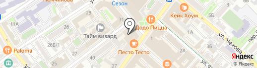 Эльдорадо на карте Иркутска