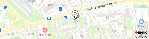 ДоставкаЦветовИркутск.РФ на карте Иркутска