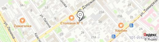 СОВ-7 на карте Иркутска