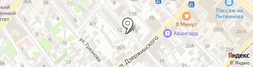 Региональная Металлургическая Компания на карте Иркутска