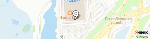 Борд вэй на карте Иркутска