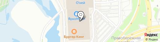 TANGO на карте Иркутска