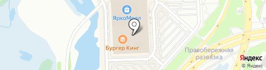 Venta на карте Иркутска