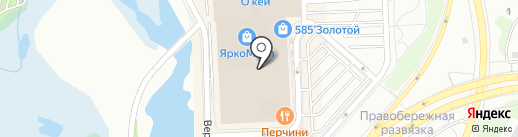 KASPIY DECOR на карте Иркутска