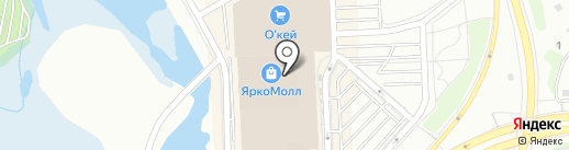 Teana на карте Иркутска