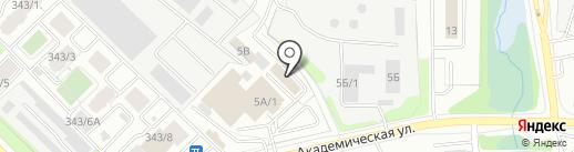 Благотворительный фонд Юрия Тена на карте Иркутска