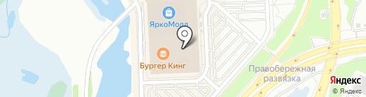 Shark force на карте Иркутска