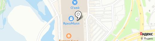 585 на карте Иркутска
