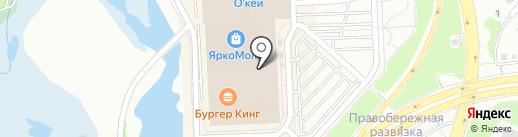 Azaleia на карте Иркутска