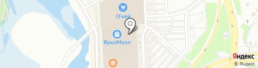 Магазин аксессуаров для мобильных телефонов на карте Иркутска