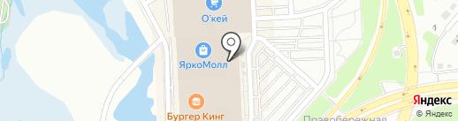 IceBox на карте Иркутска