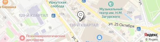 Байкальские стратегии на карте Иркутска