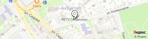 Формат А4 на карте Иркутска