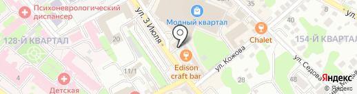 Исток, ЧУ ДО на карте Иркутска
