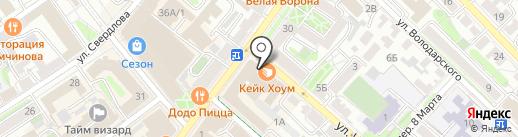 Apriori home на карте Иркутска