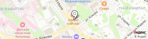 Академия на карте Иркутска