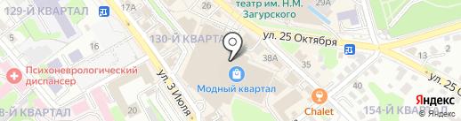 Gulliver на карте Иркутска