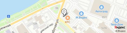 На Фортуне на карте Иркутска