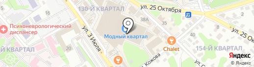 Банкомат, Сбербанк, ПАО на карте Иркутска