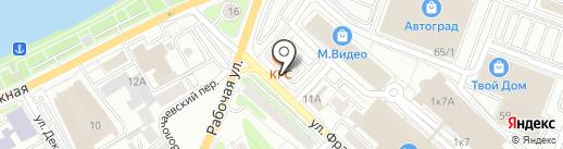 Мастер-Холод на карте Иркутска