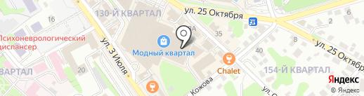 Rokket Pizza на карте Иркутска