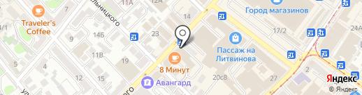 МедМода на карте Иркутска