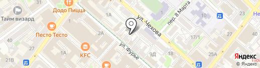 Альтернатива на карте Иркутска