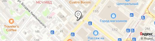 Гринкомбанк на карте Иркутска