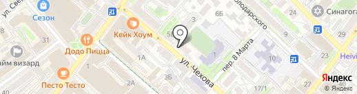 Гранат на карте Иркутска