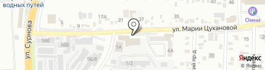 Пивной двор на карте Иркутска
