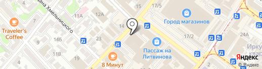 Мои Цветы на карте Иркутска