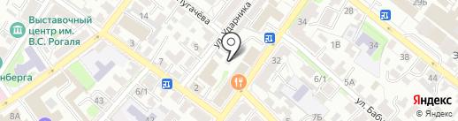 La Boulangerie & Patisserie на карте Иркутска
