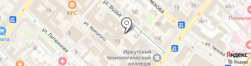 Отдел Вневедомственной Охраны по г. Иркутску на карте Иркутска