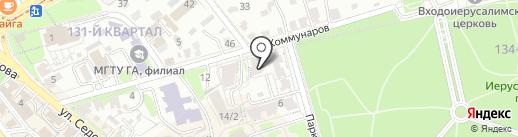 Luna Maya-beauty room на карте Иркутска