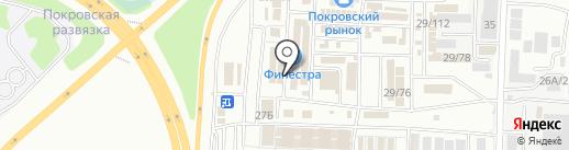 Магазин дверей и лестниц на карте Иркутска