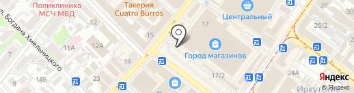 Pit-stop на карте Иркутска