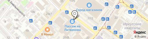 Студия красоты Ирины Шоткиновой на карте Иркутска