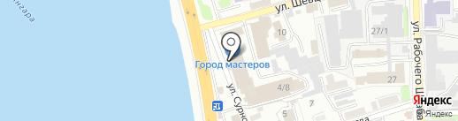 Двери под ключ на карте Иркутска