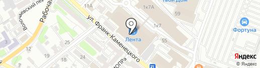 IQ на карте Иркутска