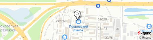 Гранит на карте Иркутска